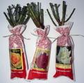 Упакованные саженцы роз